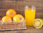 jugo de lulo o naranjilla
